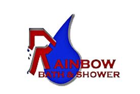 Rainbow Bath and Shower logo