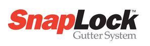 Snap Lock Gutter System logo